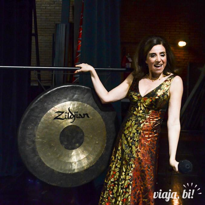 Marisa Orth no Show do Gongo