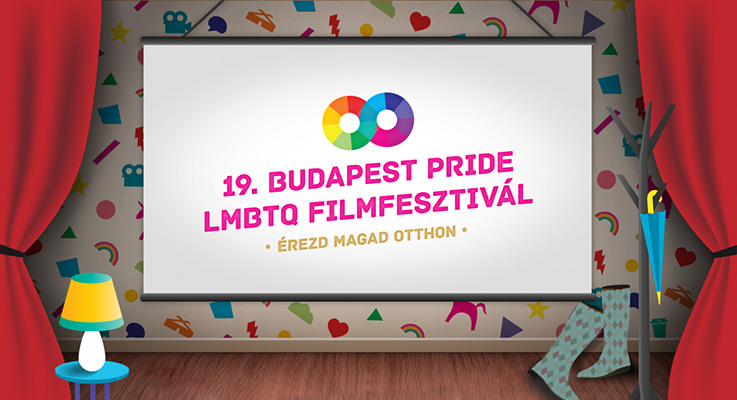 Arte do 19º Festival de Cinema LGBT de Budapeste, na Hungria